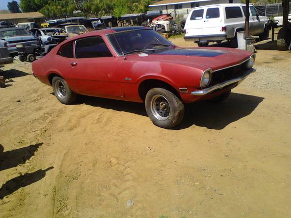 1970 Ford Maverick 2 Door For Sale in Menifee, California