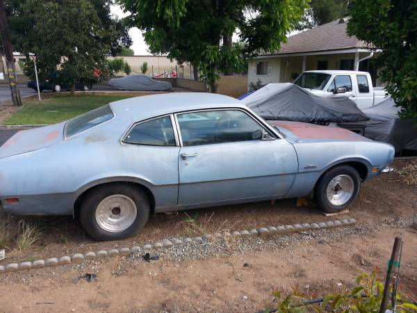 1970 Ford Maverick 2 Door Coupe For Sale In Inland Empire