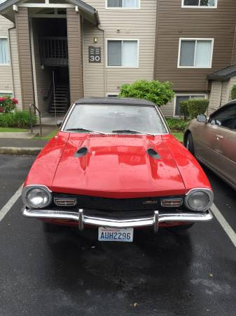 1972 Ford Maverick Grabber For Sale in Tacoma, Washington