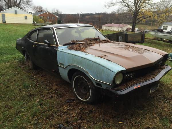 1972 ford maverick 2 door for sale in roanoke virginia. Black Bedroom Furniture Sets. Home Design Ideas