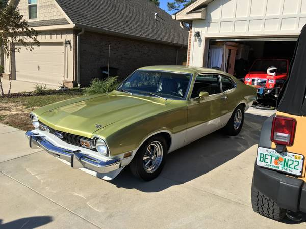 1973 ford maverick 2 door for sale in santa rosa beach florida. Black Bedroom Furniture Sets. Home Design Ideas