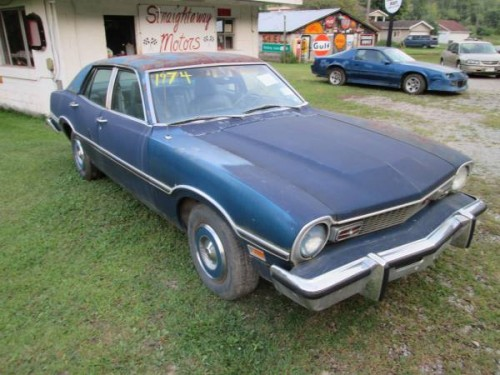 1974 Ford Maverick 4 Door For Sale in Eastern Kentucky