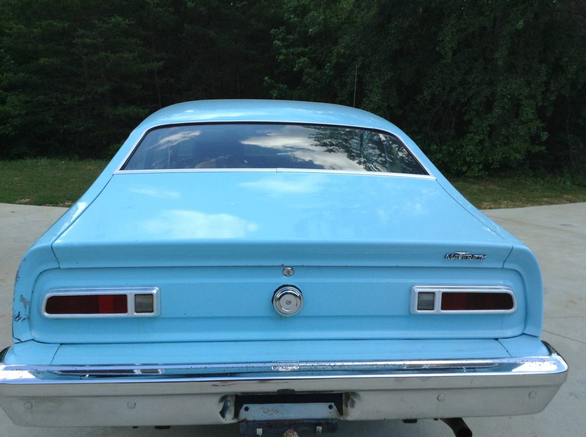 1974 Ford Maverick Two Door Coupe For Sale in Greenville, SC