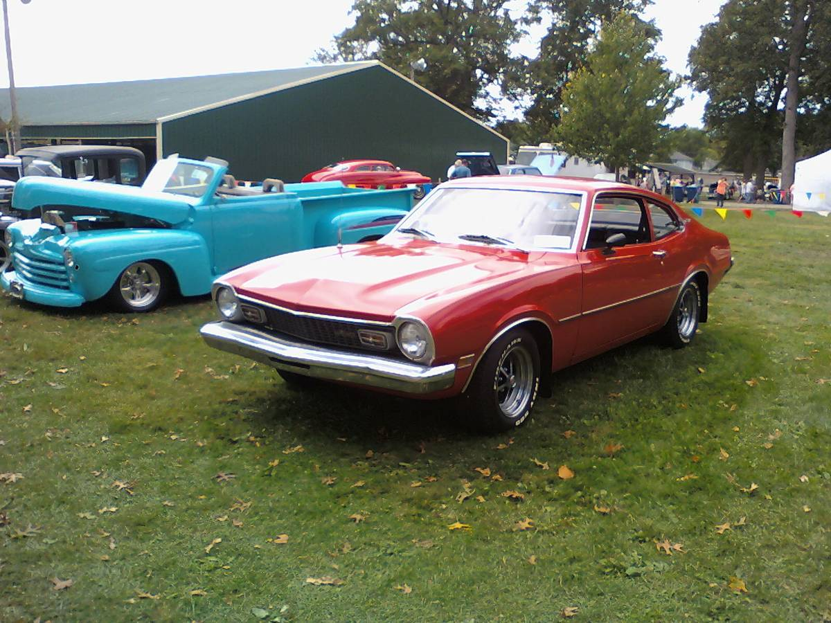 1973 Ford Maverick 2 Door For Sale in Gaston, Indiana