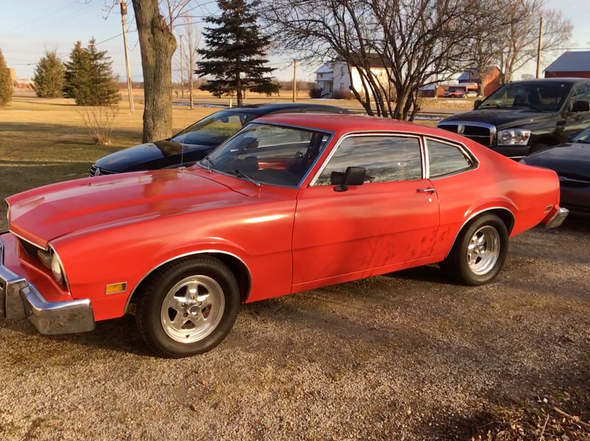1977 Ford Maverick Two Door Project For Sale in Monroe, MI