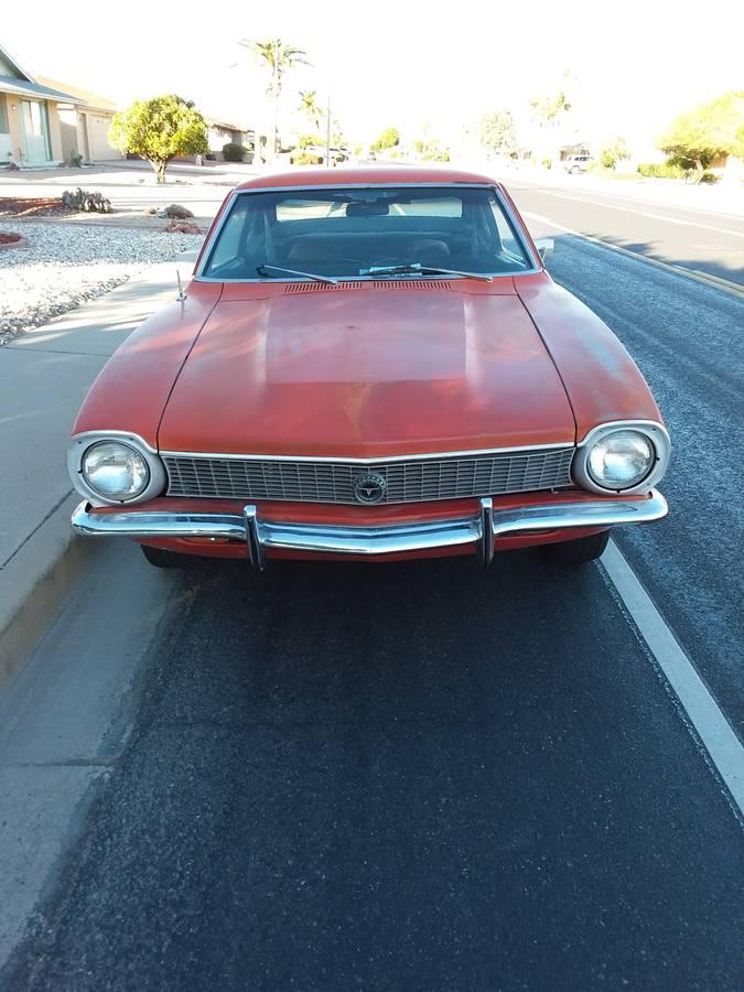 1972 Ford Maverick Grabber For Sale In Phoenix Arizona