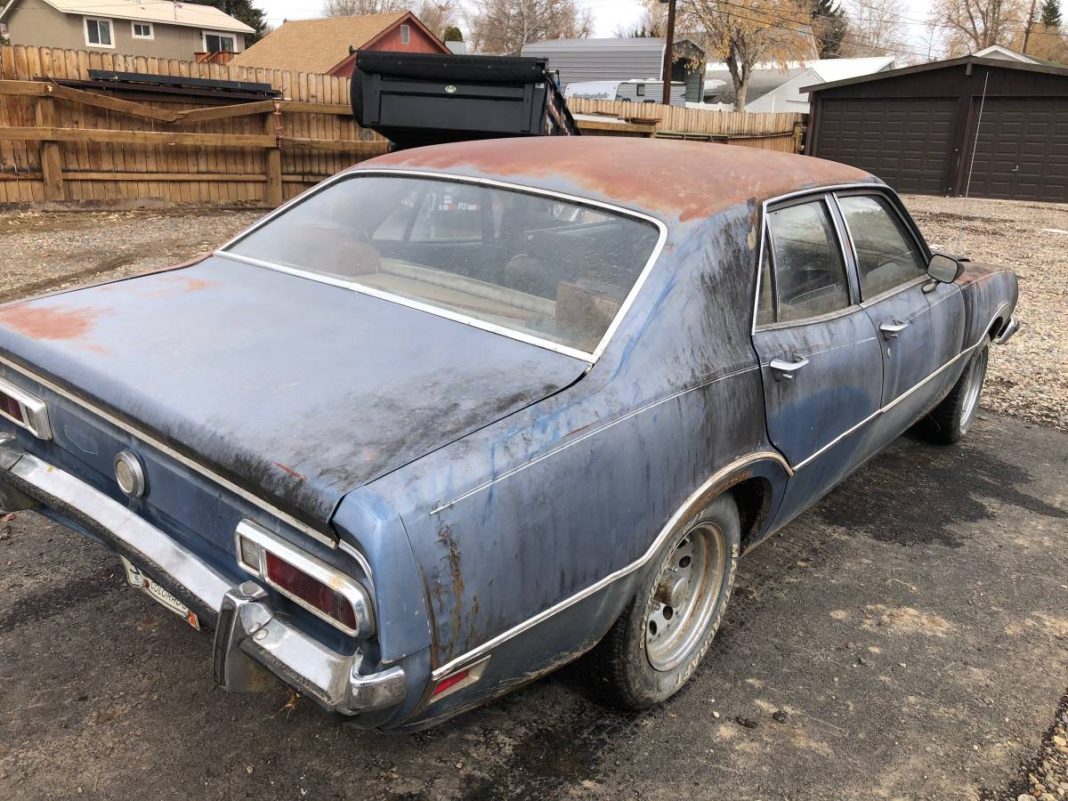 1973 Ford Maverick 4 Door 302 V8 For Sale in Meeker, Colorado
