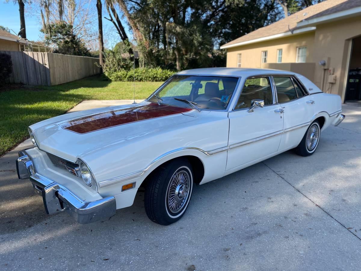 1974 Ford Maverick 4 Door 302 V8 For Sale in Ocala, FL