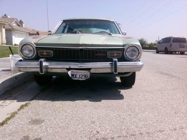 1973 Ford Maverick 4 Door For Sale in San Bernardino ...