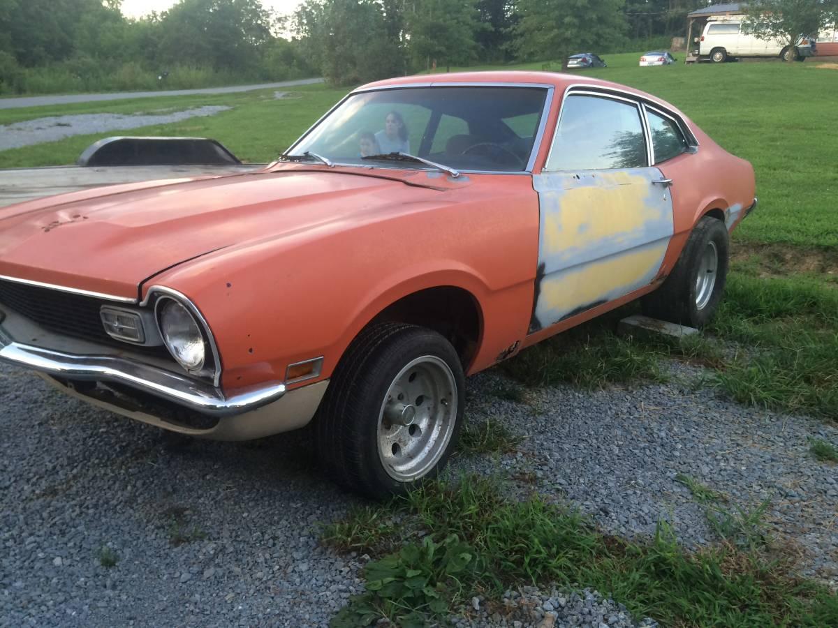 1973 Ford Maverick Two Door For Sale in Harrodsburg, Kentucky
