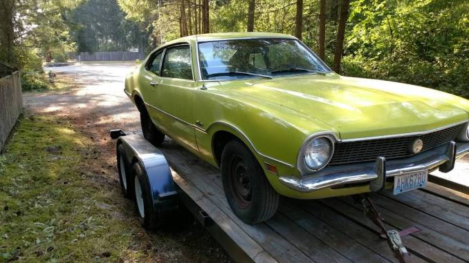 1972 Ford Maverick Two Door For Sale in Kent, Washington