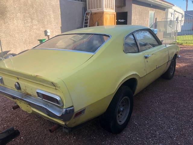 1970 Ford Maverick Two Door Project For Sale In Las Vegas