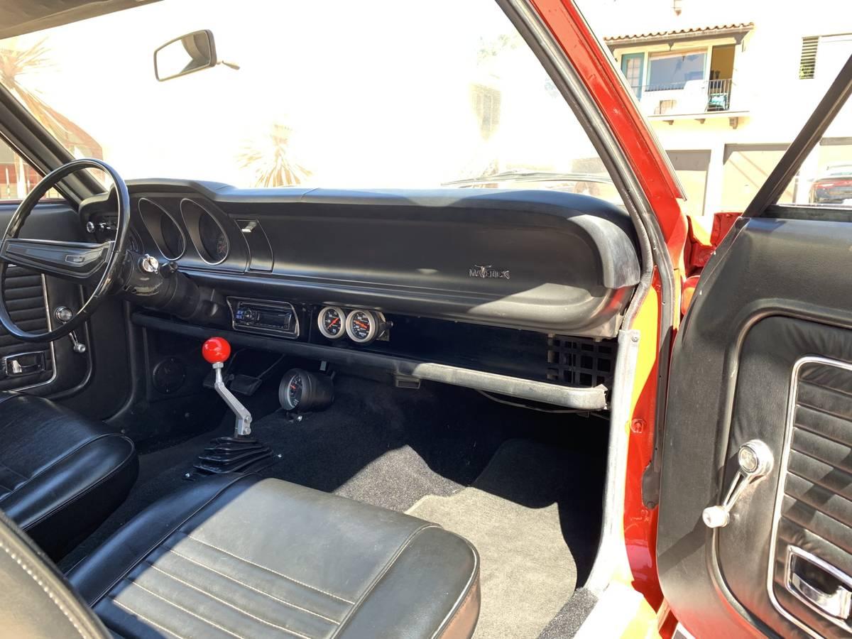 1973 Ford Maverick Two Door For Sale In Santa Barbara
