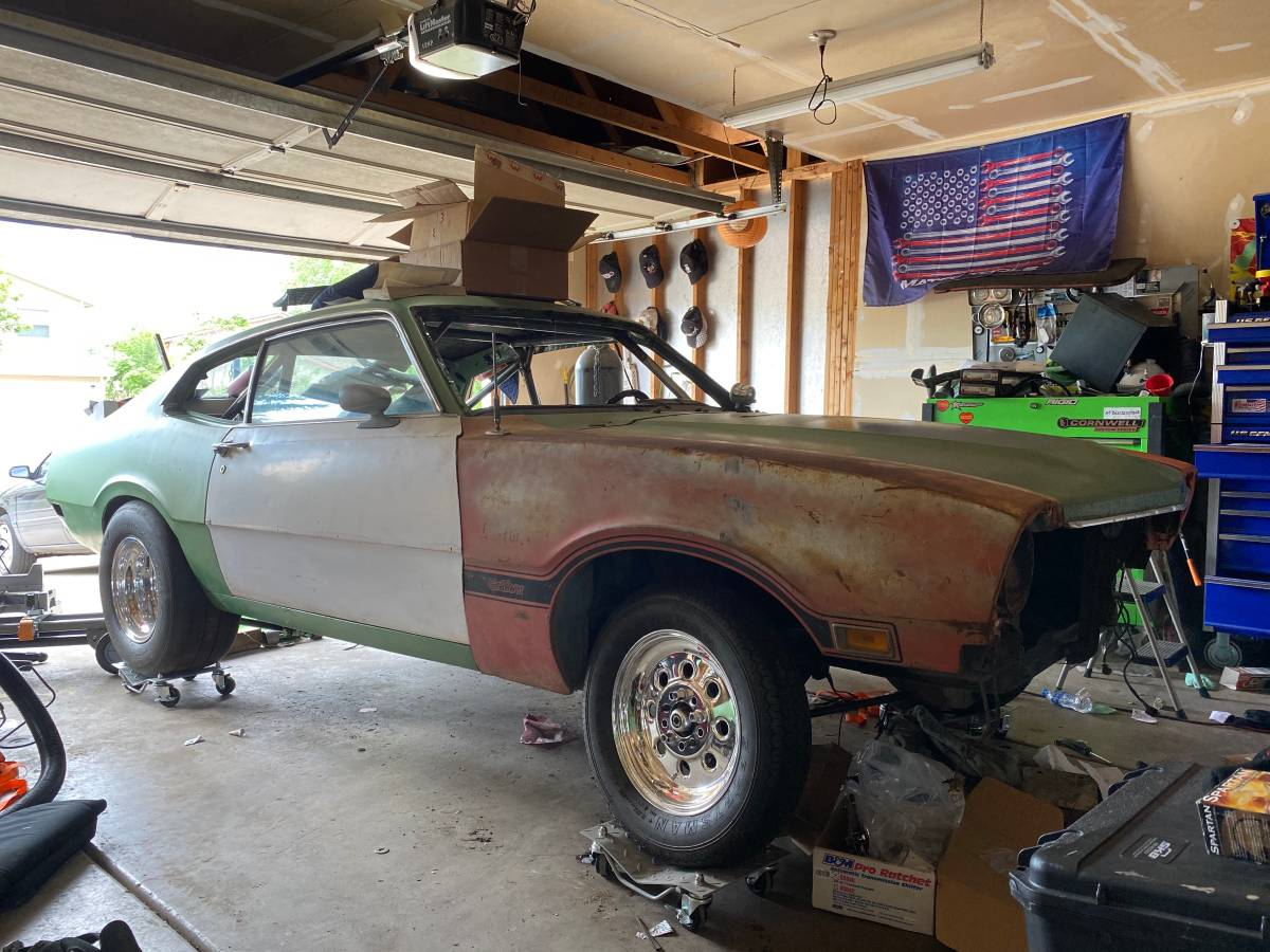 1970 Ford Maverick 2 Door Project For Sale in Colorado ...